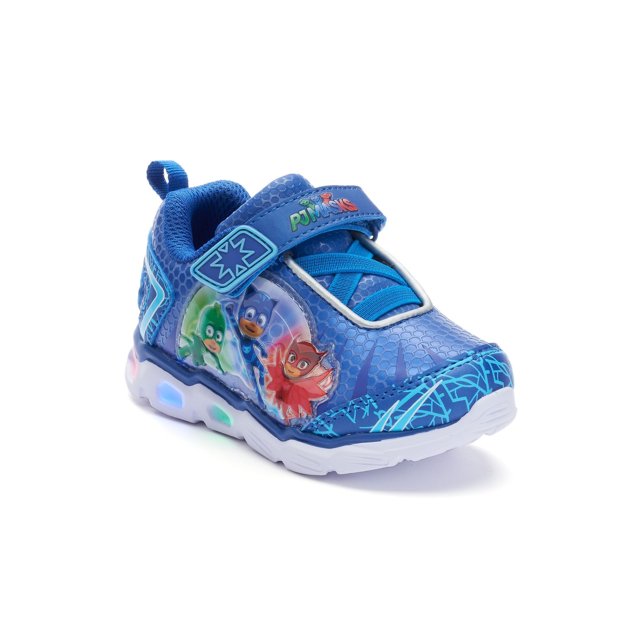 brand new b60d7 0db17 PJ Masks Toddler Boys  Light-Up Shoes, Boy s, Size  10 T, Blue Other