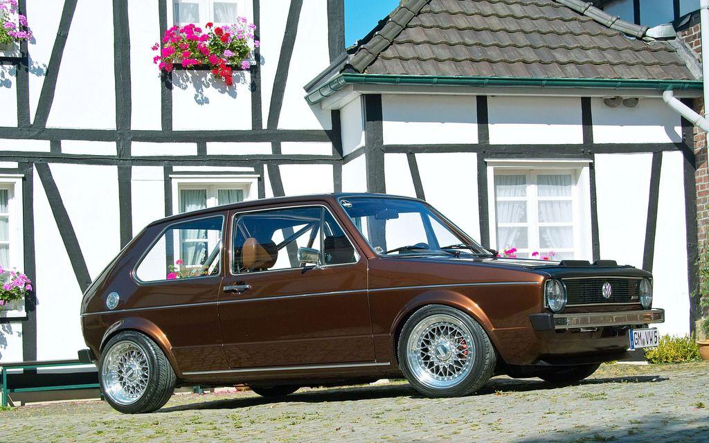 1983 Volkswagen Golf I Chocolate Brown Volkswagen Golf Volkswagen Volkswagen Golf I