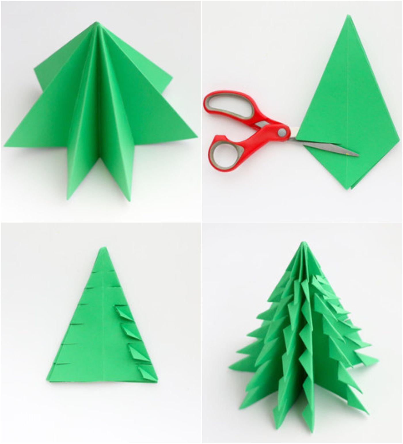 Origami Weihnachten Anleitung