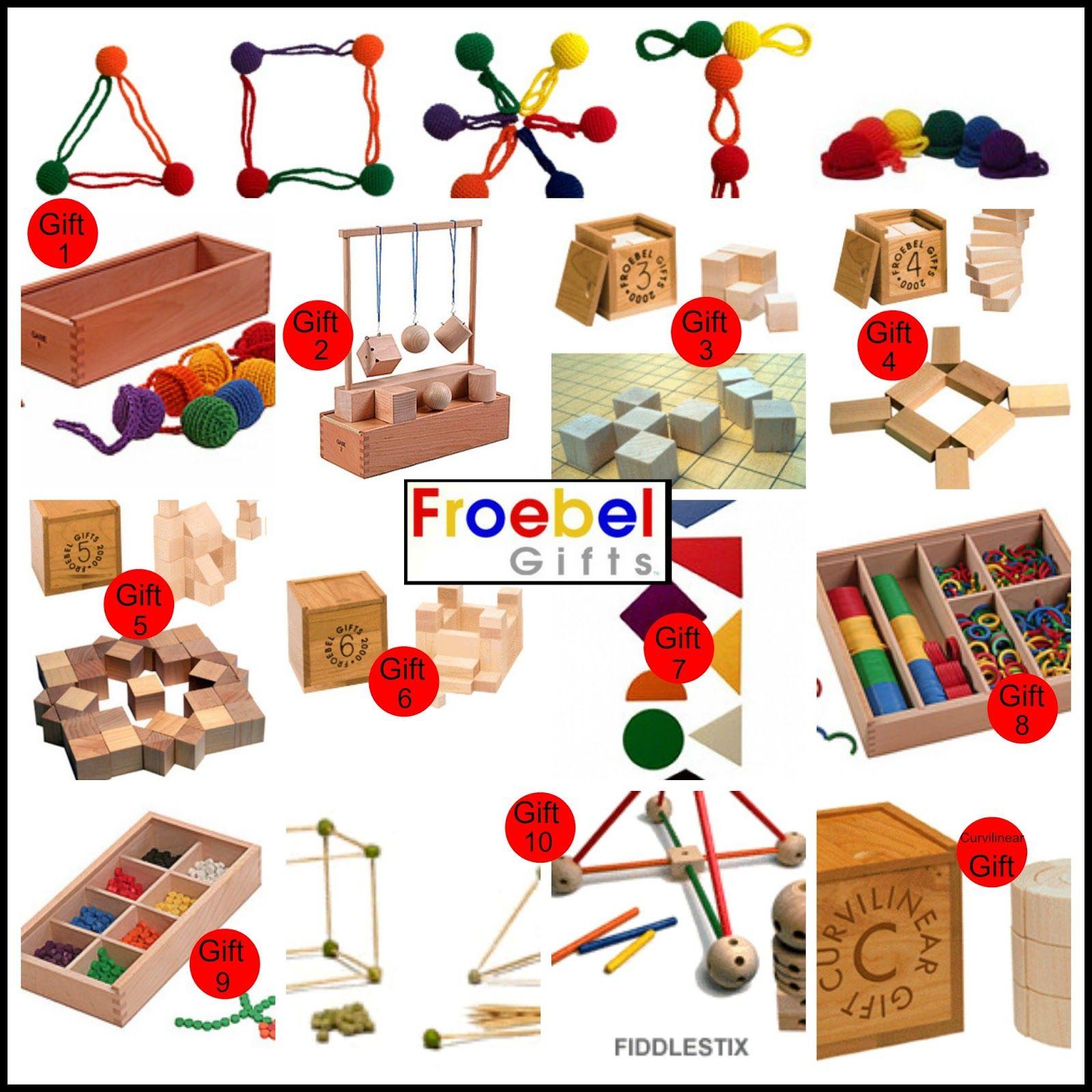 Froebel Gifts - The Original Spielgabe or Spielgaben ...
