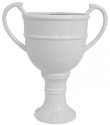 Ceramic Chalice Ivory Vase