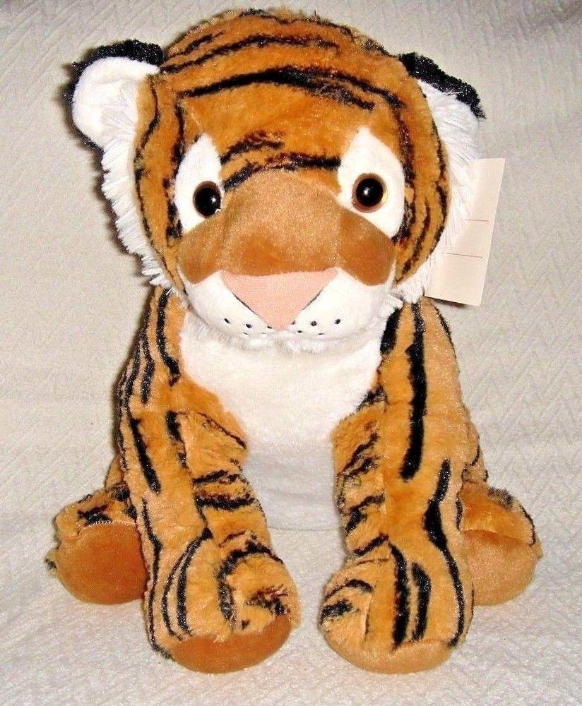 Tiger Stuffed Animal Big Plush Large Sitting Jungle Kids Soft Toy 15 X 22 Nwt Bestmadetoysinternational Tiger Stuffed Animal Big Plush Plush [ 1000 x 824 Pixel ]