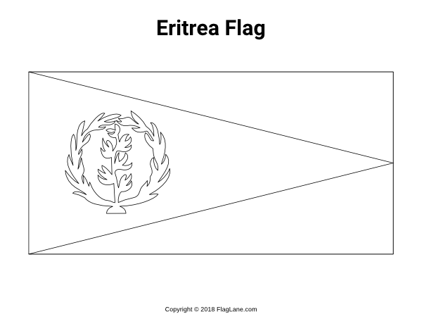 Free Printable Eritrea Flag Coloring Page Download It At Https Flaglane Com Coloring Page Eritrean Flag Eritrea Flag Flag Coloring Pages Eritrean Flag