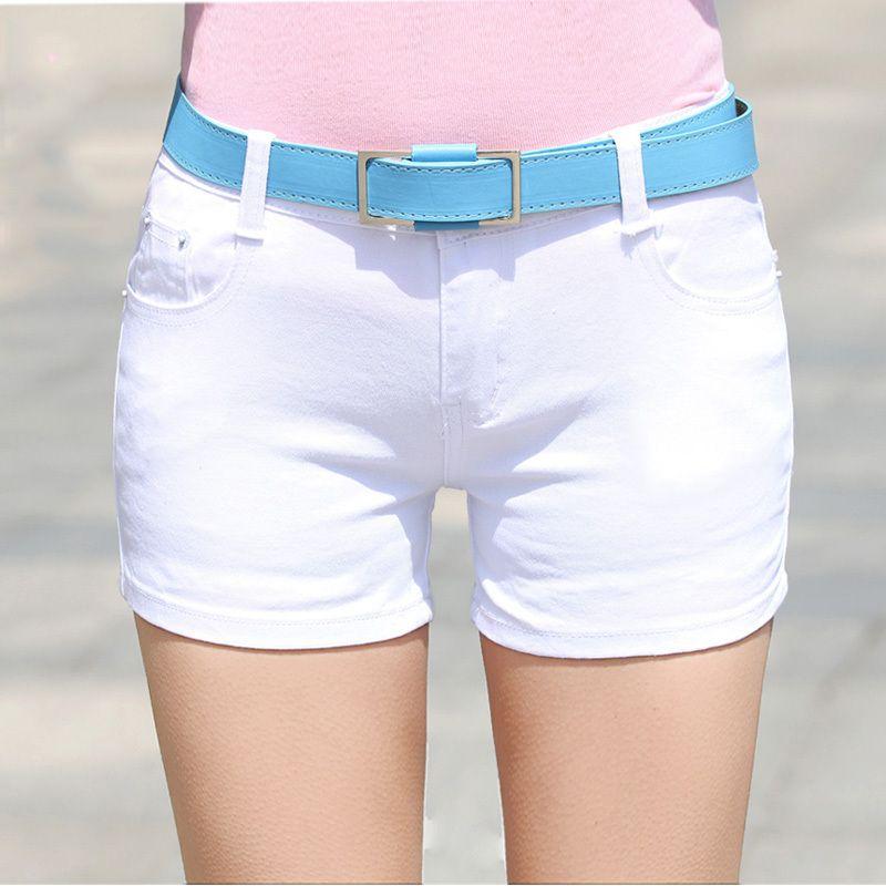 2016 t short en jean mince fit ladyies taille lastique sexy femme short jeans pour les femmes. Black Bedroom Furniture Sets. Home Design Ideas