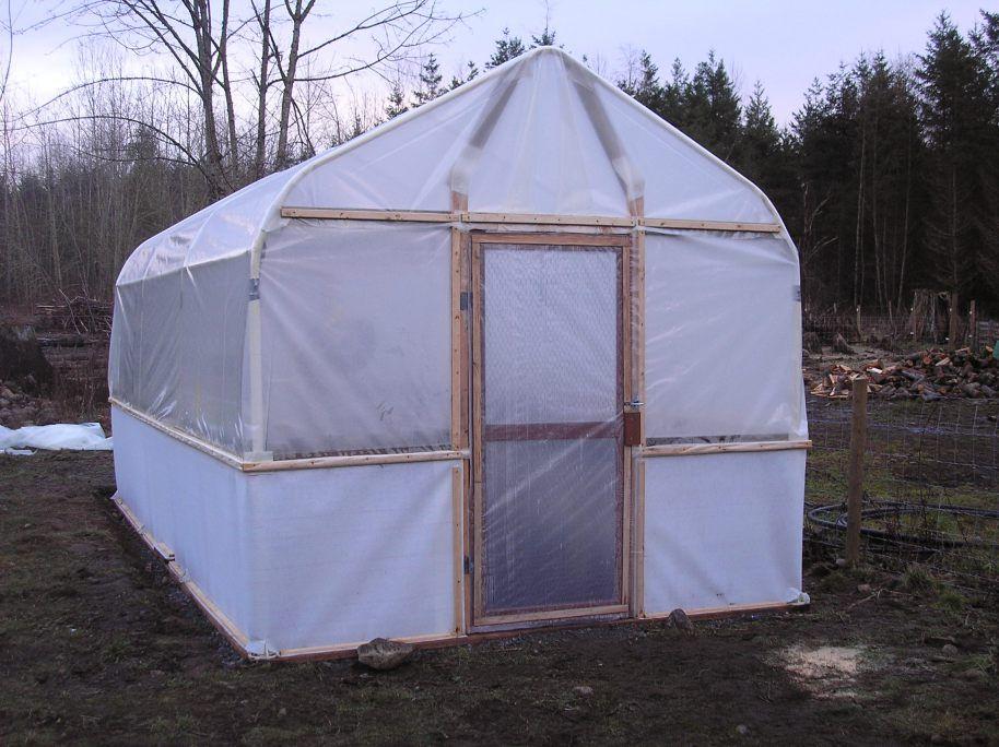 JERRY'S CARPORT TUBE FRAME GREENHOUSE Best greenhouse