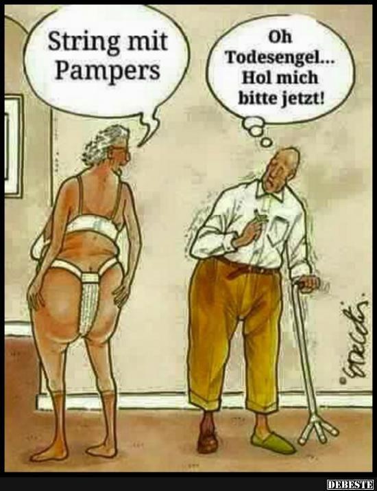 String Mit Pampers Lustige Bilder Spruche Witze Echt Lustig