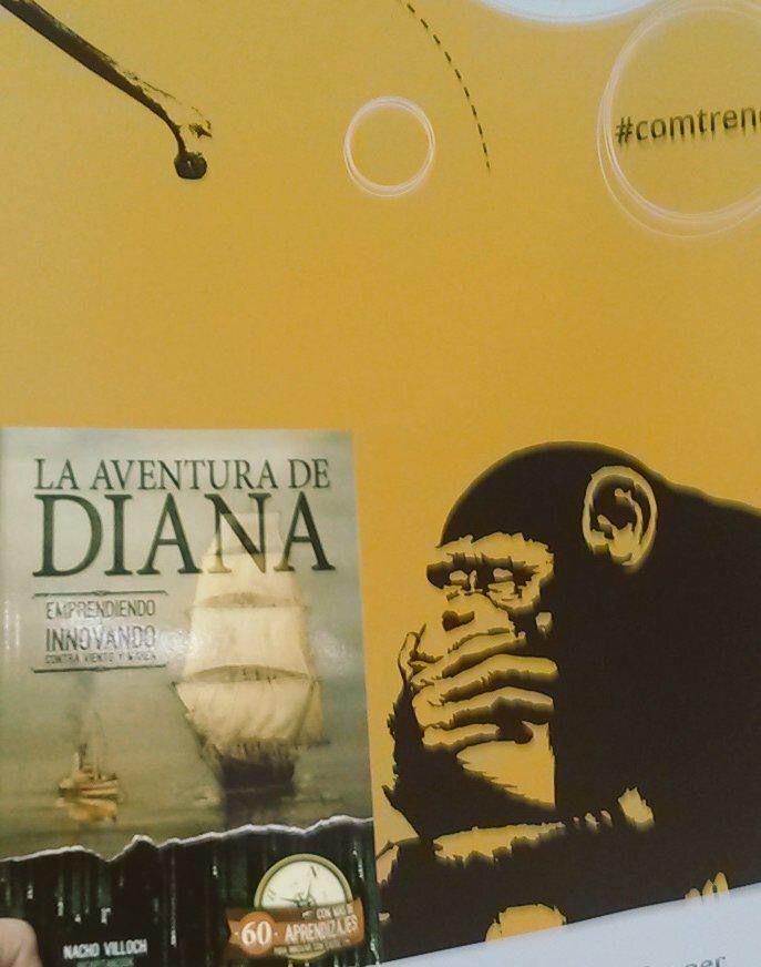 La aventura de Diana como referencia en innovación en comunicación , en nuevas tendencias de #Storytelling y Narrativas para enganchar a las audiencias y transmitir aprendizajes y mensajes con valor, #BrandedContent #ComTrends #Storytelling #Creatividad