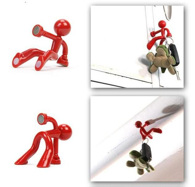 Online Cheap Wall Climbing Man Magnetic Key Holder Key Pete Boy Keychain  Fridge Magnets Dhl Novelty Pictures