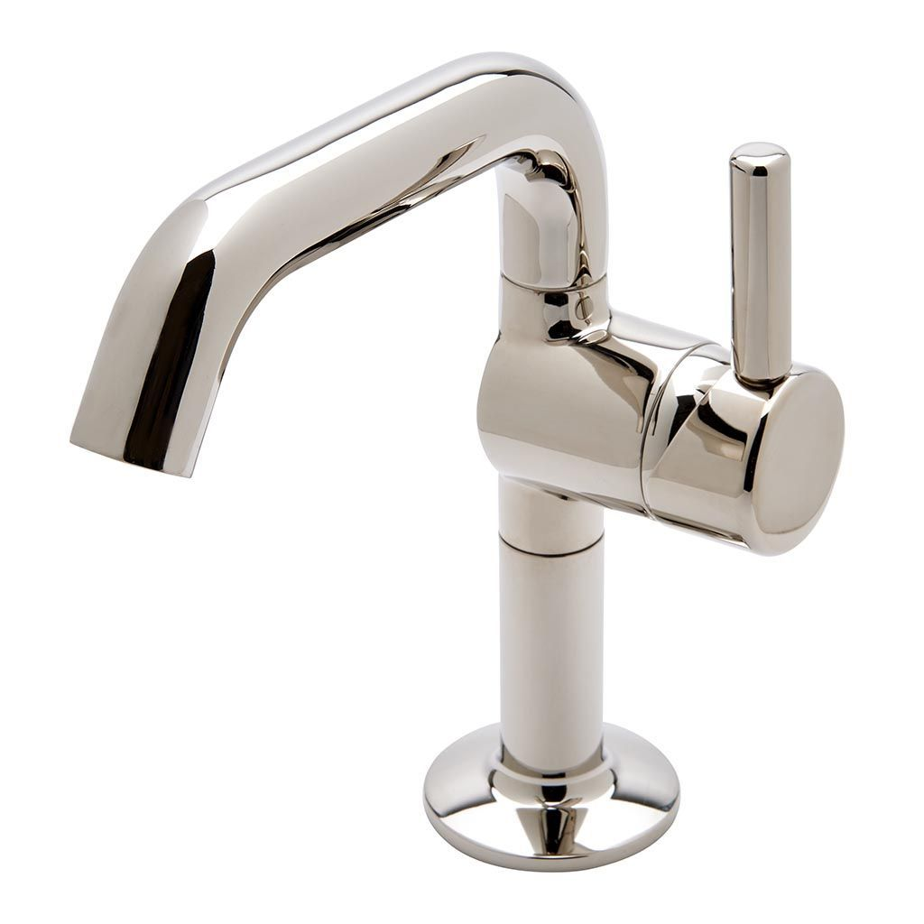25 One Hole High Profile Bar Faucet, Short Metal Handle | Bar ...