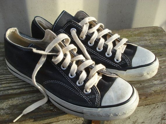 e64482eec4f6 Converse Coach Black Label All Stars Sneakers Vintage USA Mens 6 ~  Classics!!!