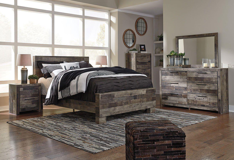 Derekson Panel Bedroom Set King bedroom sets, Bedroom