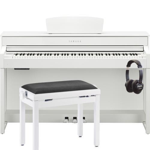 yamaha clp535 clavinova digital piano satin white wish list 2017 best digital piano white. Black Bedroom Furniture Sets. Home Design Ideas