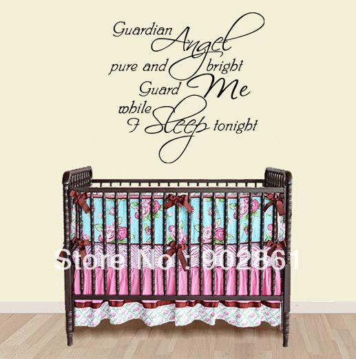 Many Word Quote for baby Nursery room......inspiration