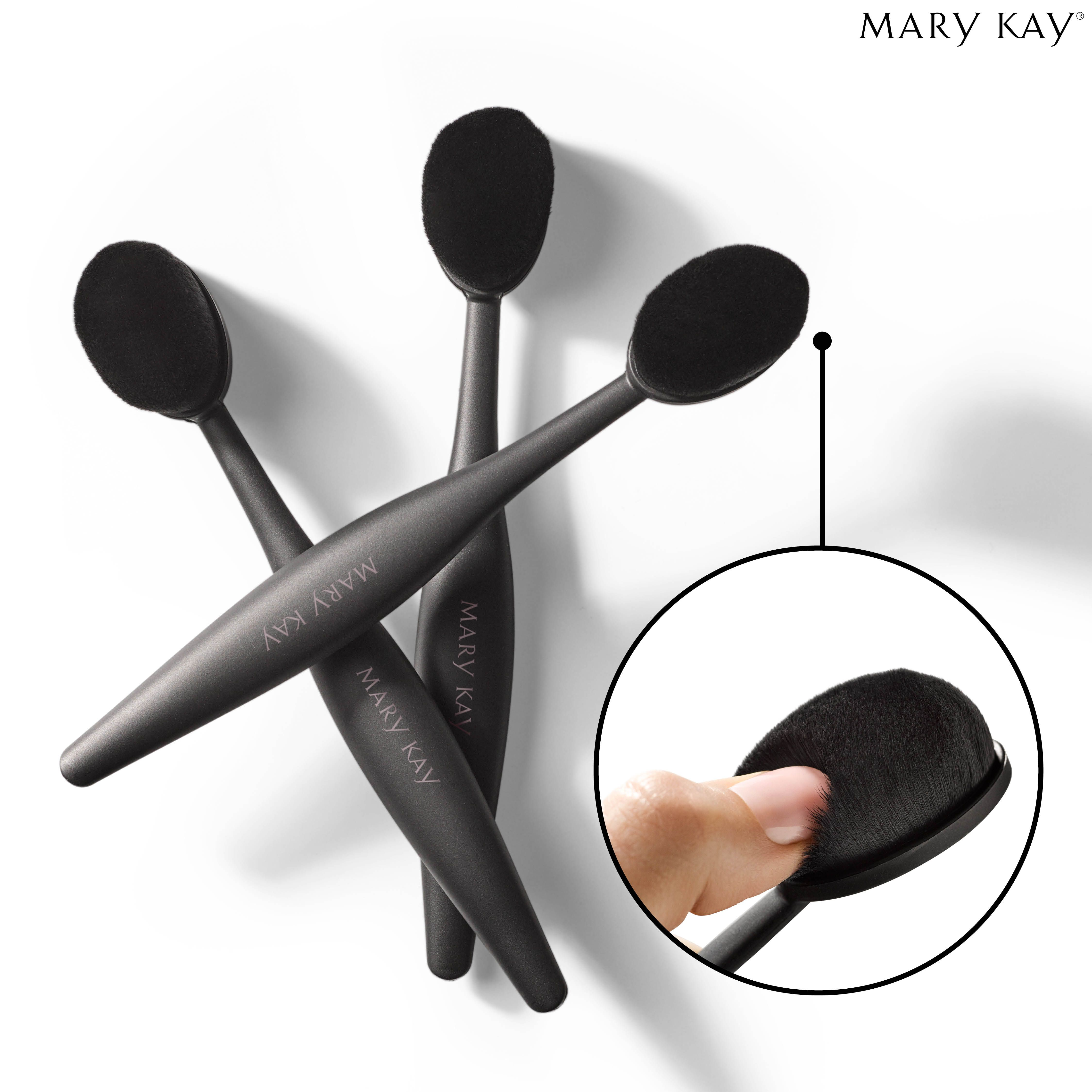Beauty Blender Or Brush For Full Coverage: Dense. Soft. Superior Blending! This NEW Mary Kay