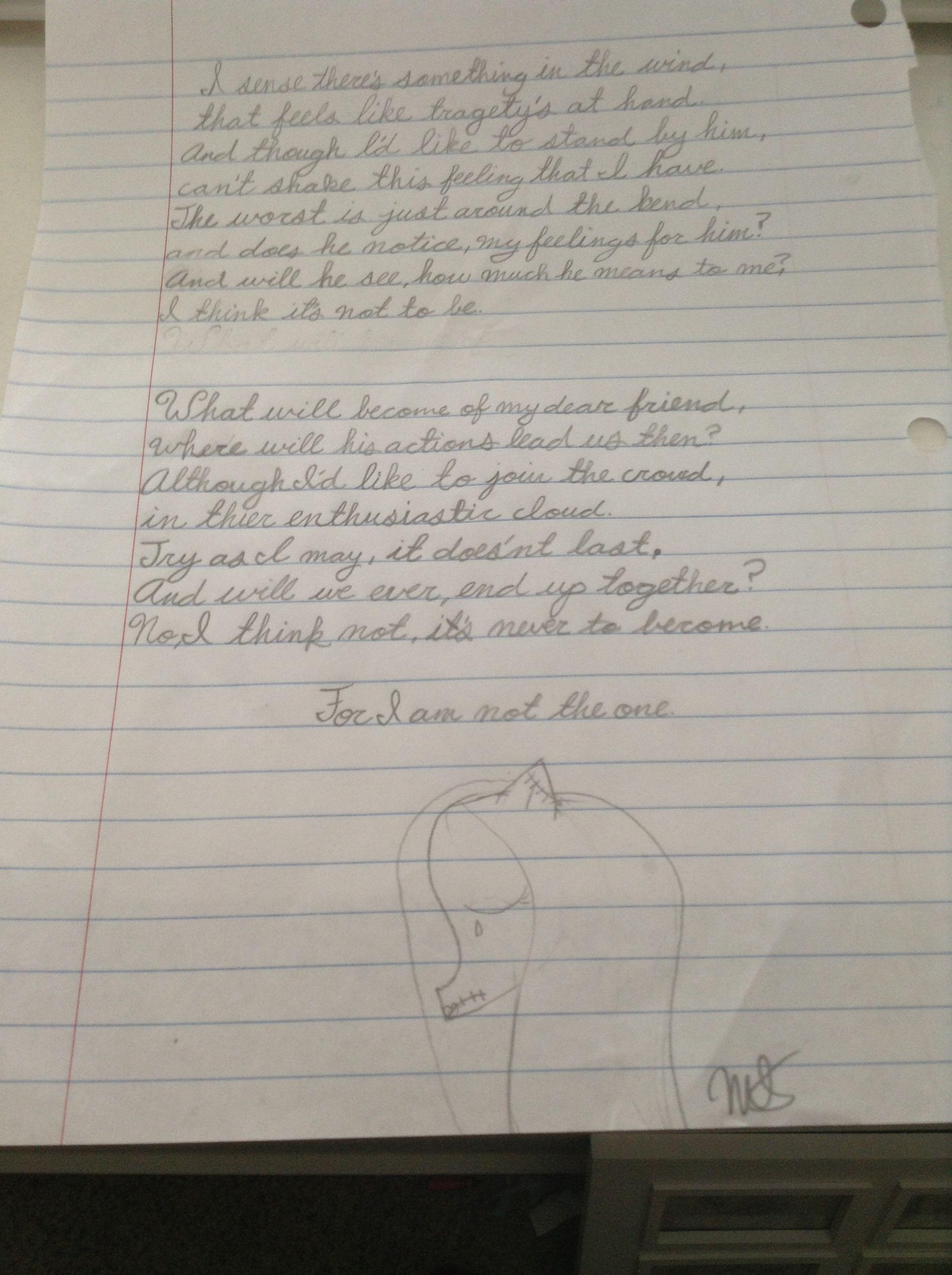 Disney fan art- Sally\'s song lyrics by Miranda Scharffs | Nightmare ...