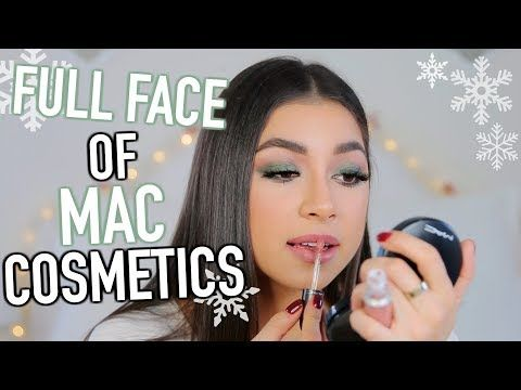Full Face of MAC Cosmetics Makeup Tutorial! + How To Get Sleek Straight Hair!