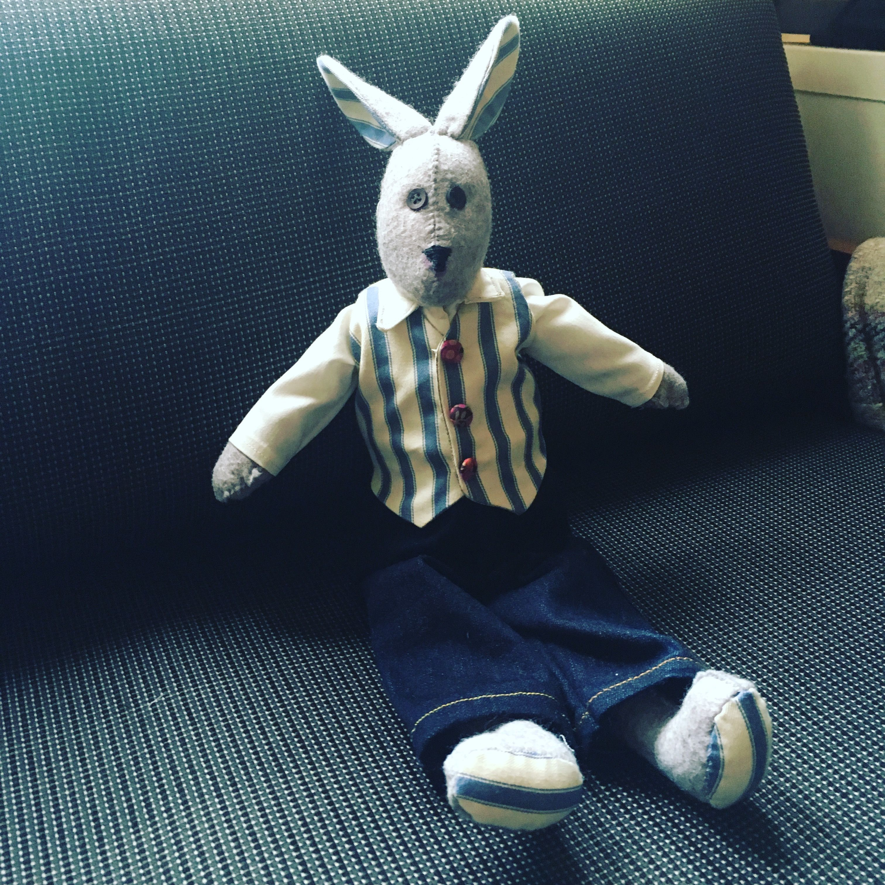 Alfie Hare. Pattern by Cool crafting   Stuff what I did make ...