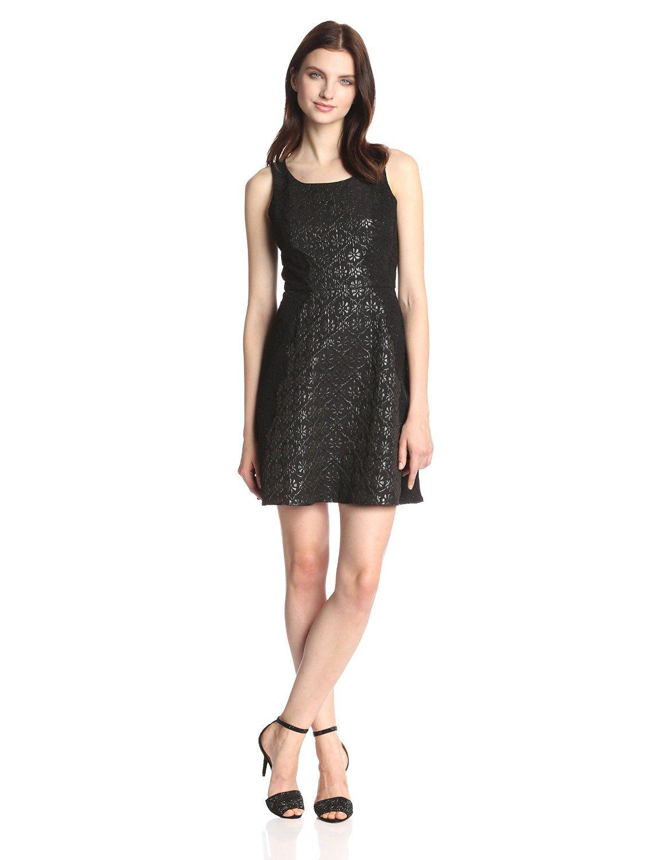 Jessica Simpson Women's Sleeveless Paneled Sheath Dress,Storm Front,6