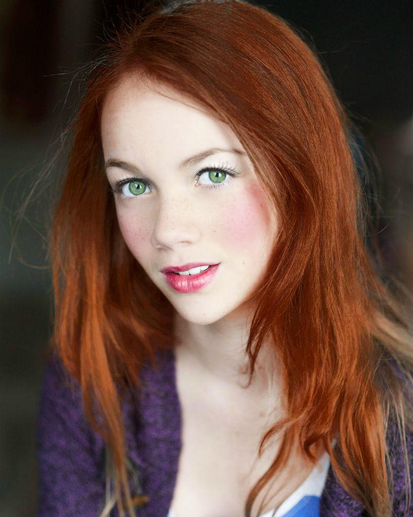 images of women auburn hair green eyes - Google Search ...