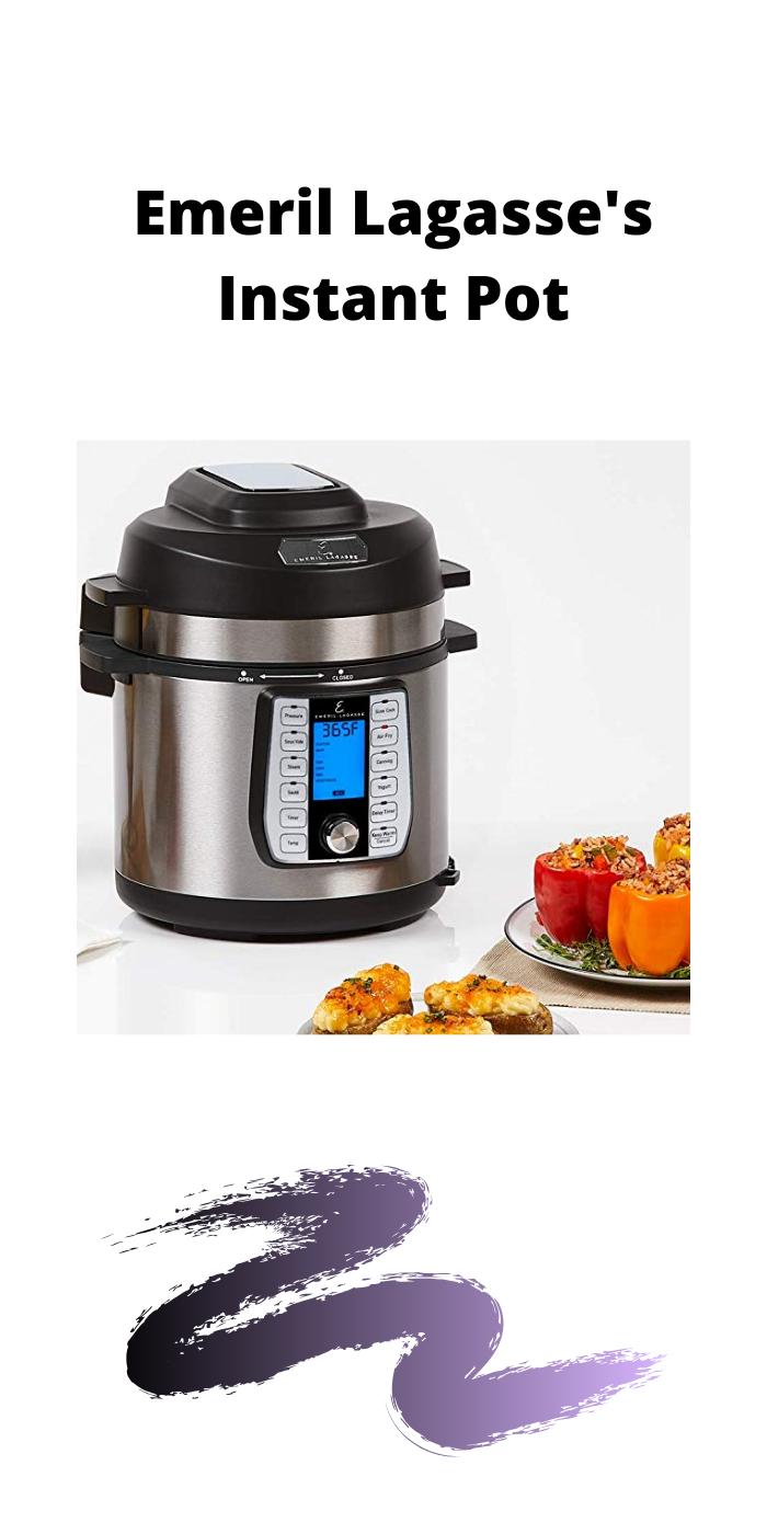 Emeril Lagasse Pressure Cooker, Air Fryer, Steamer & All