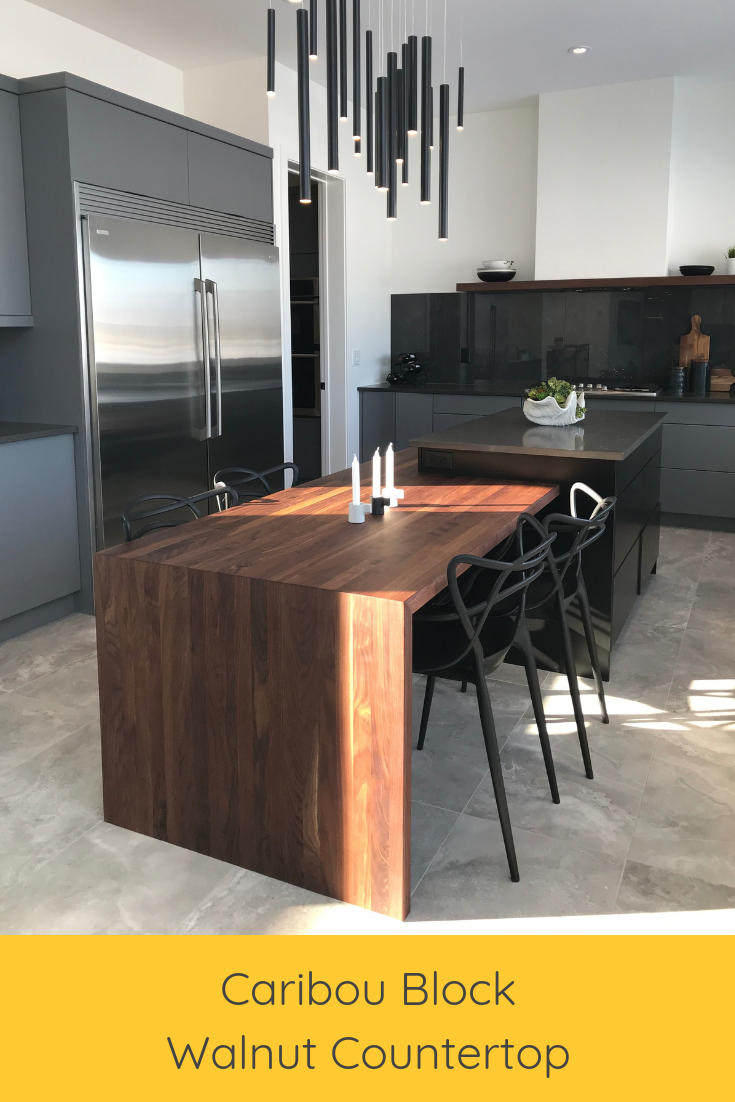 How To Waterproof Wood Countertop We Are In Love With This Stunning Kitchen By Parkwood Master