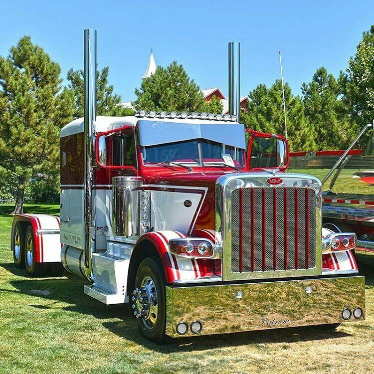 Big Rig Show Trucks: Top Custom Semi Rigs   389 Peterbilt Show Trucks