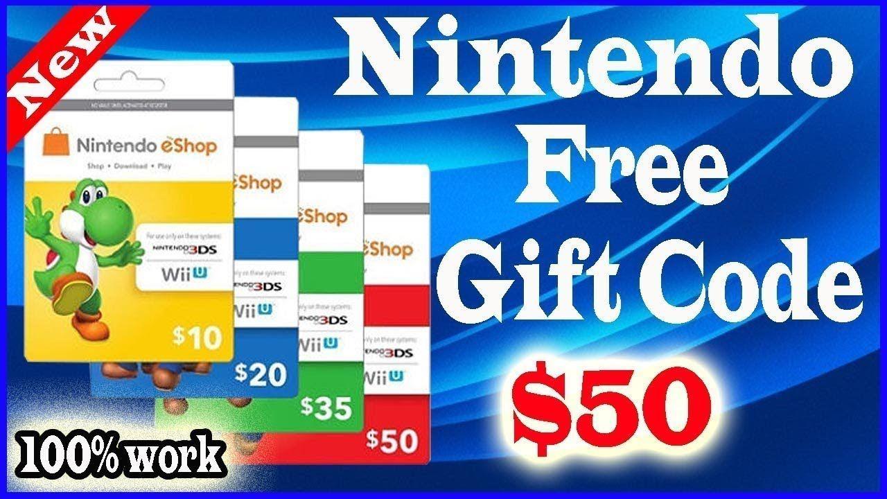 Free nintendo gift card how to get free nintendo