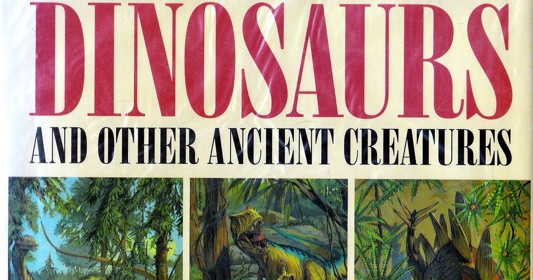 Meeting our Vintage Dinosaur Art criterion by the slimmest of margins, The American Museum of Natural History's Book of Dinosaurs and Other ... #historyofdinosaurs