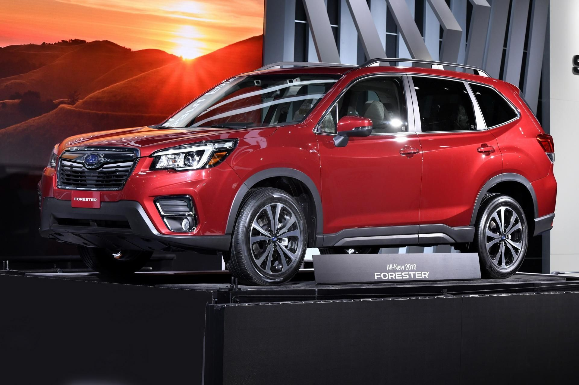 2019 Subaru Forester Plays It Safe, Gets More Room And
