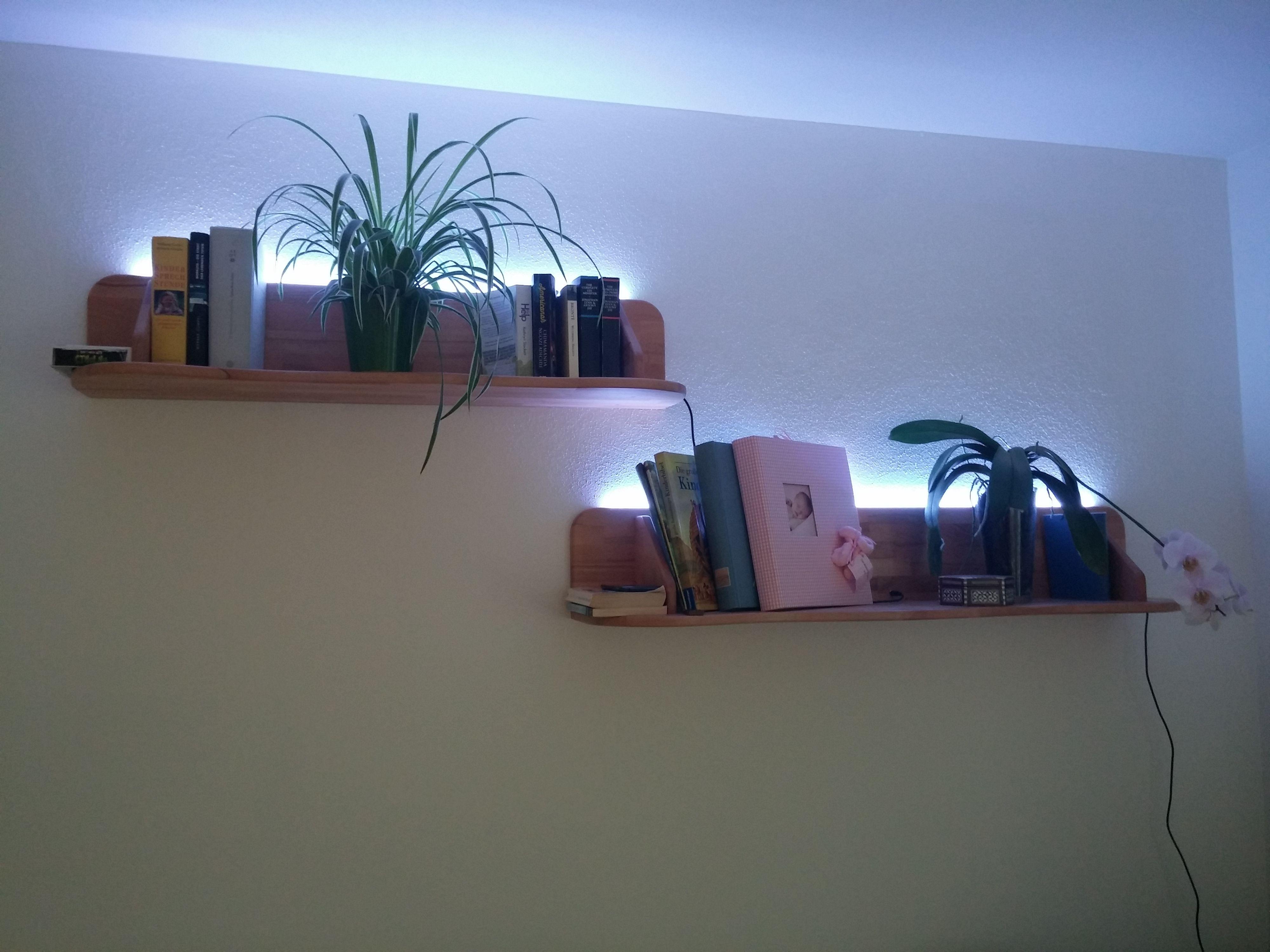 Berühmt Regal Mit Indirekter Beleuchtung Selber Bauen Ideen - Die ...