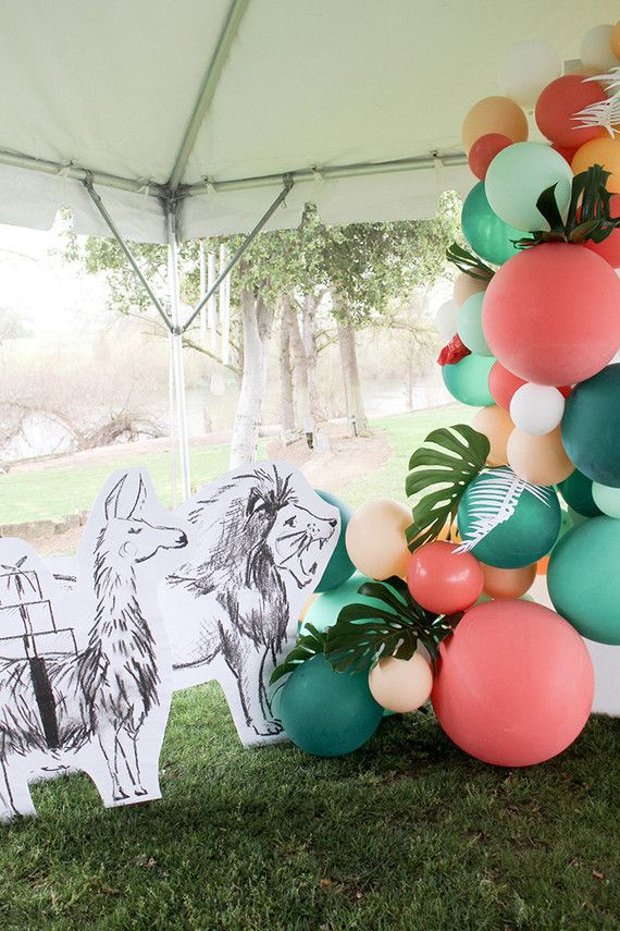 Modern Party Animal themed 2nd birthday | Wedding & Party Ideas