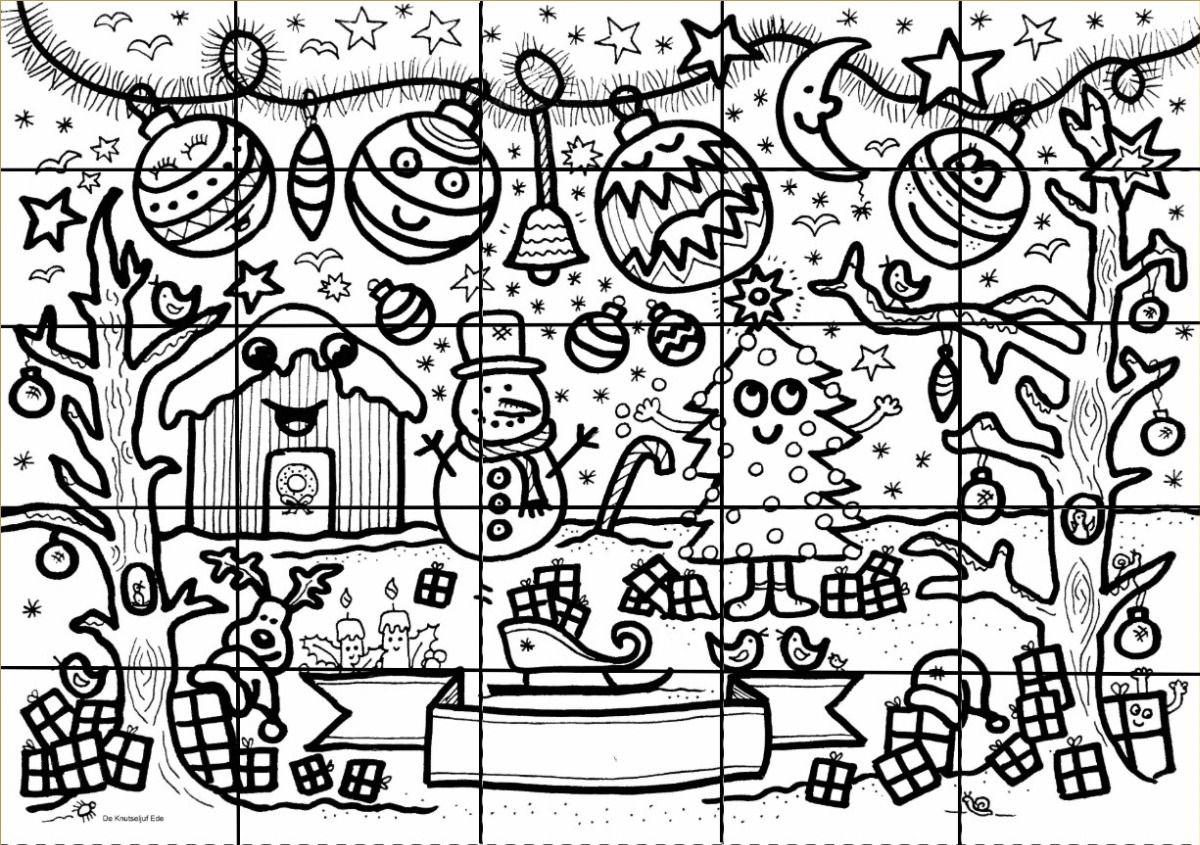 Block Poster Kerst Met Kerstballen Blockposter Knutselen Creatief Kleurplaat Kleurplaten De Knutseljuf Ede Kleurplaten Kerstkleurplaten Poster