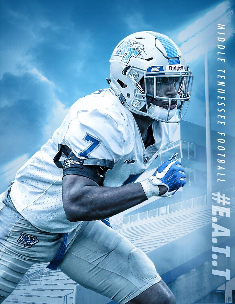 Middle Tennessee Sport poster, Football helmets