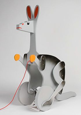 Alexander Calder Kangaroo toy from the Tate Modern shop