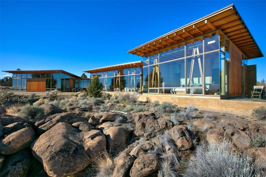 Extraordinary Property of the Day: Contemporary Clifftop Retreat in ...