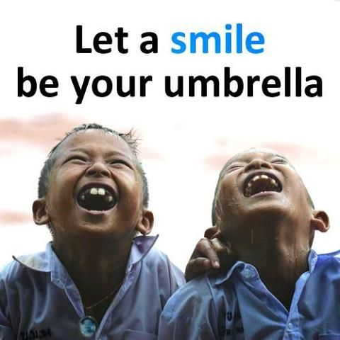"""Unicef NL: """"Let a smile be your umbrella"""" add"""