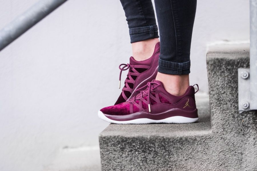 122b8db34a4 Nike - Jordan Deca Fly Heiress Collection GS (maroon) - 845097-609 ...