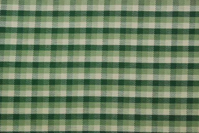 Robert Allen Meadow Green Deep Green Woven Plaid Drapery Upholstery Fabric BTY #RobertAllen