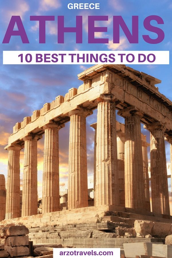 Find out about the best 10 things to do in Athens Greece I Where to go in Greece I What to do in Greece I Solo female travel in Athens