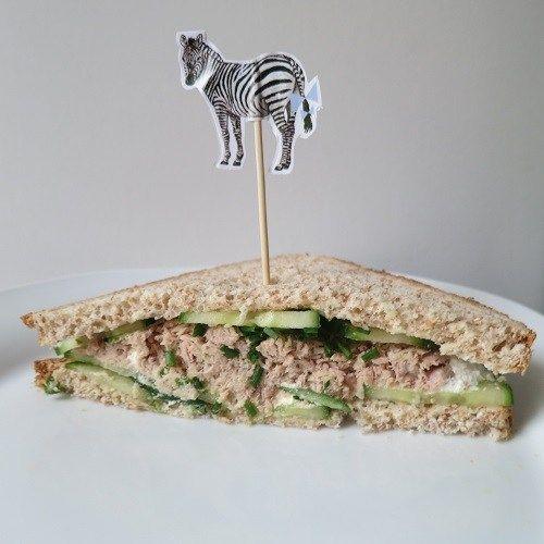 Sandwiches concombre 6