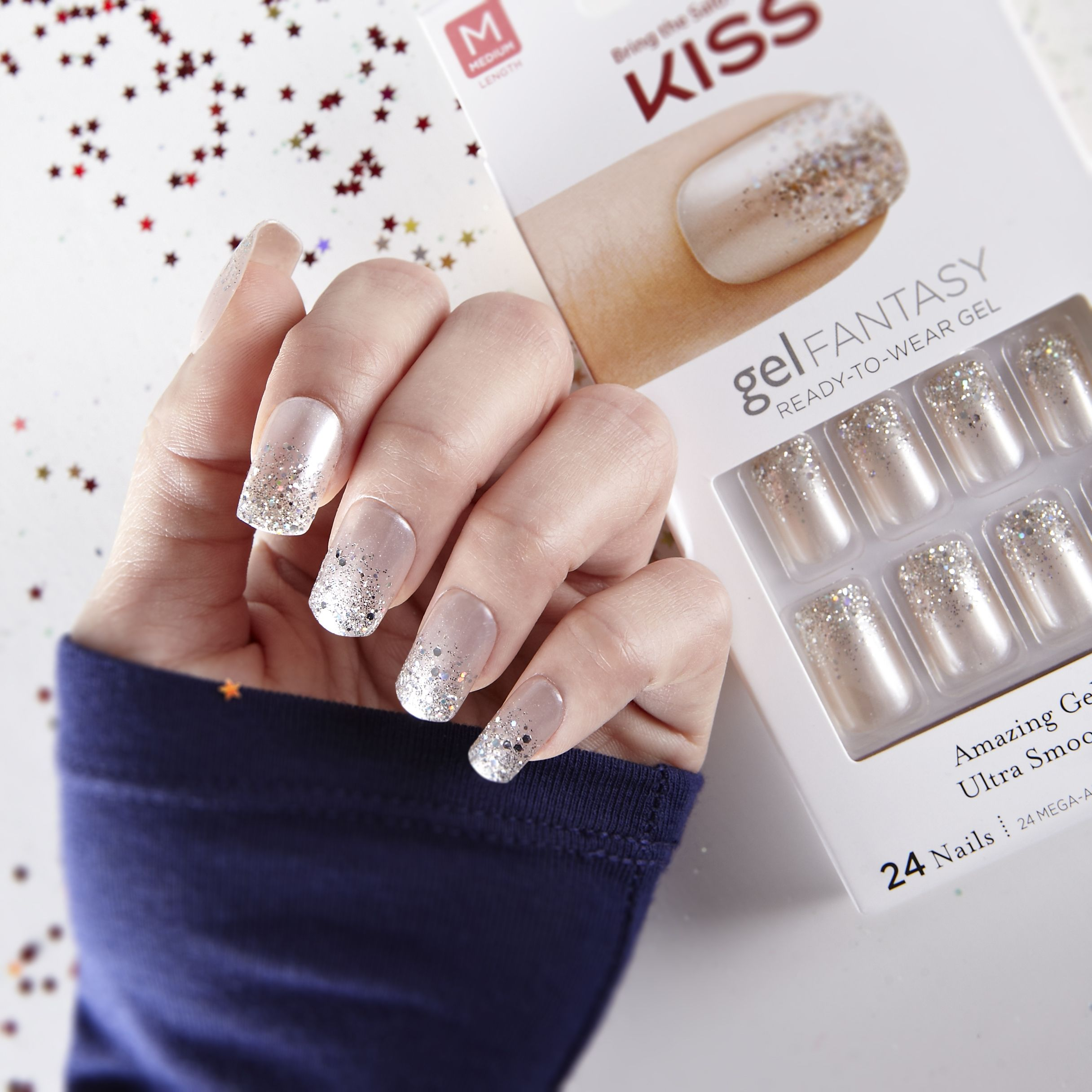 Turn on the sparkle shine with kiss holiday nails available at turn on the sparkle shine with kiss holiday nails available at select walgreens prinsesfo Images