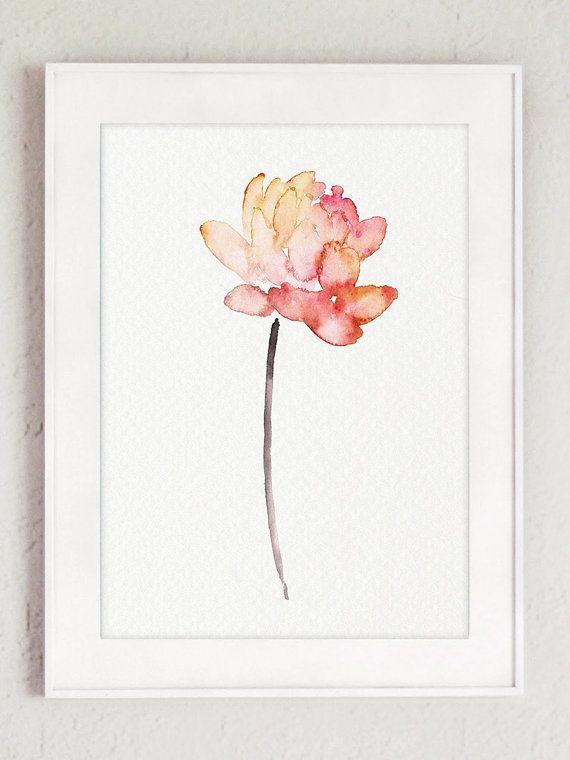 Art print POSTER Lotus Flower 2