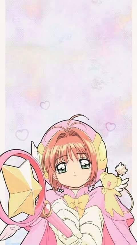 wallper para celular de sakurita!! ❤ ❤ | Sakura card captor ...