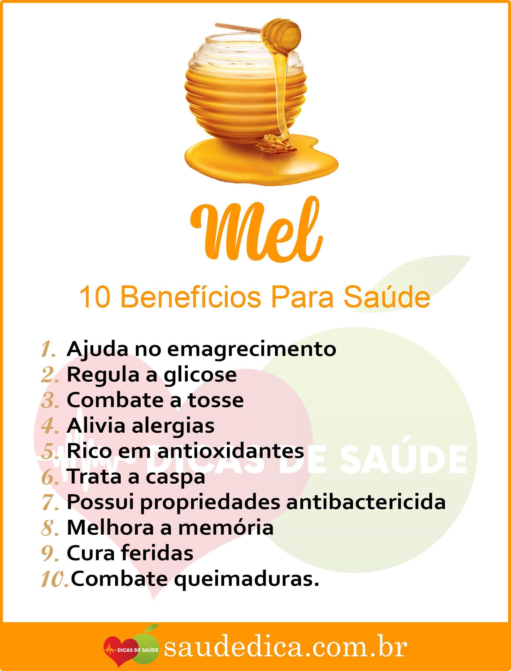 Os 10 Beneficios Do Mel Para Saude Mel Melbeneficios