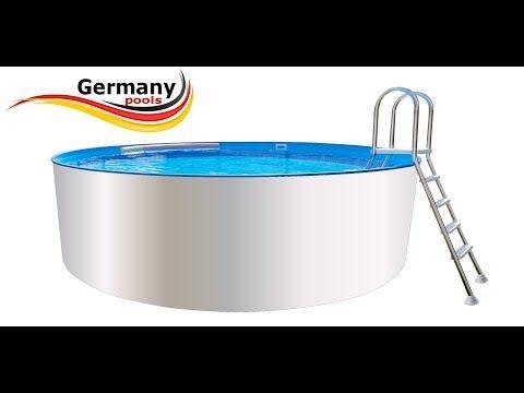 Stahlwandbecken Pool Kaufen Komplettset Als Bausatz Zum Selber Bauen