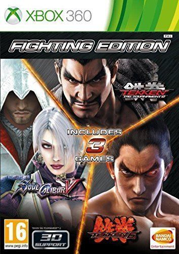 Fighting Edition Tekken 6 Tekken Tag Tournament 2 And Soul