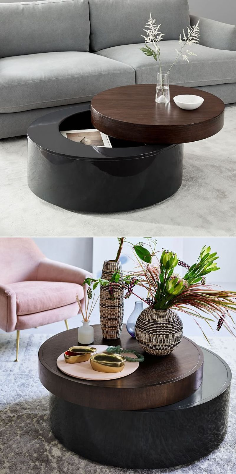20 Best Coffee Tables With Storage Space To Buy Online In 2021 Coffee Table Cool Coffee Tables Coffee Table With Storage [ 1603 x 800 Pixel ]