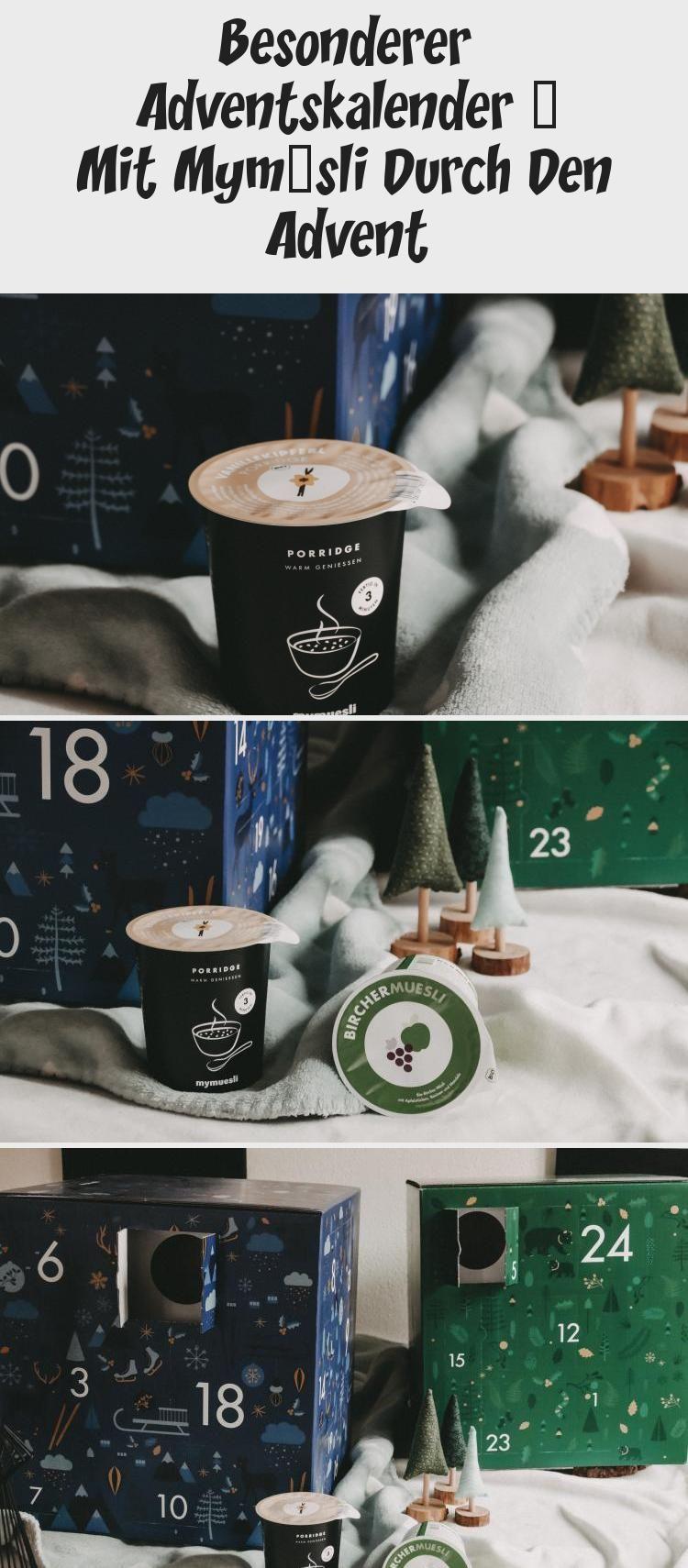 WERBUNG | Besonderer Adventskalender – Mit MyMüsli durch den Advent Besondere…,  #Advent #A…