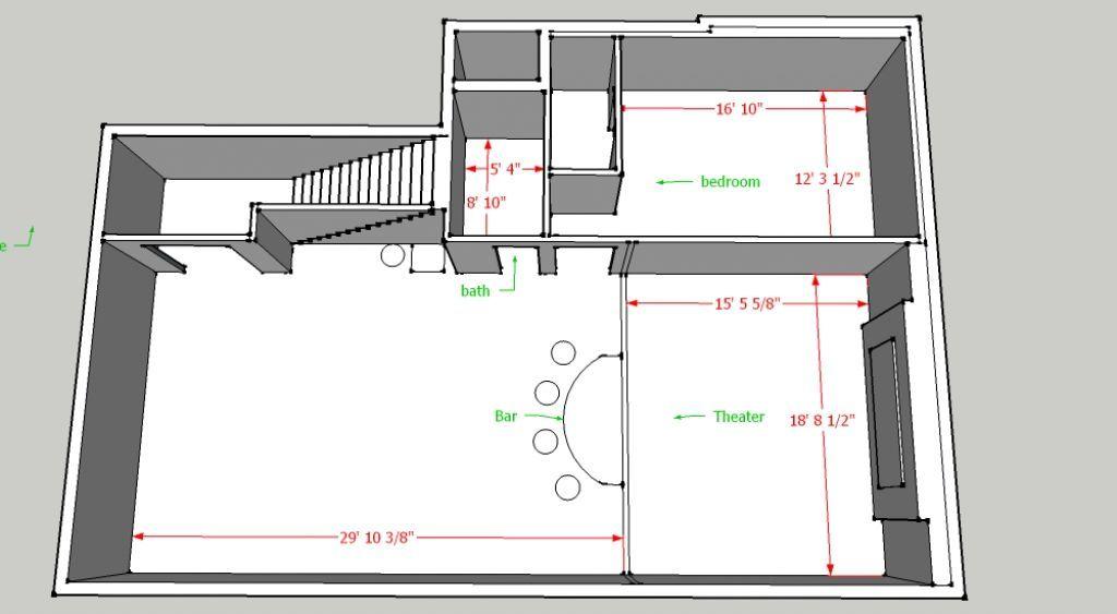 Image Result For Basement Floor Plan Ideas
