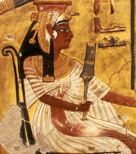 Painting Of Queen Nefertiti Playing A Game 1320 1200 B C Ancient Egyptian Art Egypt Art Egyptian Art